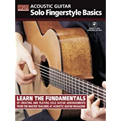 Acoustic Guitar: Solo Fingerstyle Basics  Acoustic Guitar Private Lessons  [Import] available at Amazon for Rs.683