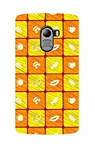 ZAPCASE PRINTED BACK COVER FOR Lenovo K4 Note - Multicolor