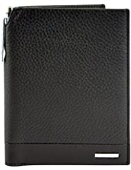 CROSS Men's Genuine Leather Global Passport Wallet With Cross Pen Nueva FV Range - Coffee