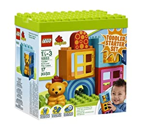 LEGO DUPLO Toddler Build and Play Cubes 10553 from LEGO