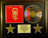 TOTO/CD DISPLAY/LIMITED EDITION/COA/IV