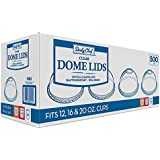 Dome Cup Plastic Lids (500 ct.)