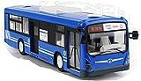 2.4Ghz 大型路線バス ラジコン ☆効果音、3段変速付(青)