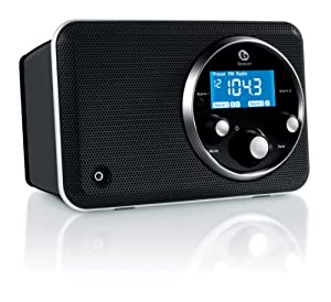 Boston Acoustics SOLO2B Solo II AM/FM Radio with Clock (Gloss Black) (Discontinued by Manufacturer)