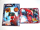 Spiderman Fan GIFT BUNDLE!! (Jigsaw Puzzle In Collectible Tin Lunchbox & Memory Match Game)