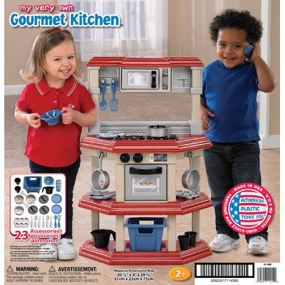 American Plastic Toys My Very Own Gourmet Kitchen Ebay