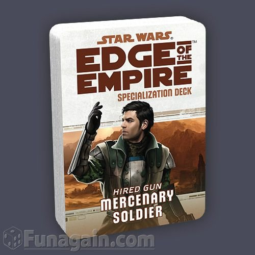 Star Wars: Edge of the Empire Specialization Deck: Mercenary Soldier