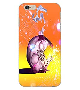 PrintDhaba Beer D-4865 Back Case Cover for APPLE IPHONE 6S (Multi-Coloured)