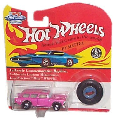 Hot Wheels - Vintage Collection - Classic Nomad (Metalflake Violet) Authentic Commemorative Replica