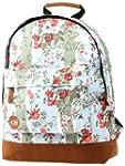 Mi-Pack Blue Floral Rose Rucksack