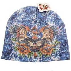 Beanie Skull Cap Kenny Hwang Tattoo Wear Blue Panther