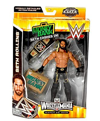 Wwe Elite Collection Wrestlemania 31 Seth Rollins Action Figure by Mattel Toys