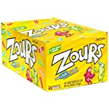 Zours Candy, Original, 1.8-Ounce Bags (Pack of 24)