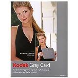 KODAK Gray Cards (Black and White Photography) (0879857544) by KODAK