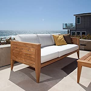 Craftsman Teak Outdoor Lounge Furniture Set
