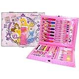 Disney Princess 52 Piece Deluxe Colouring Case