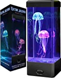 New! Fasciantions Electric Jellyfish Mood Lamp JELLYE
