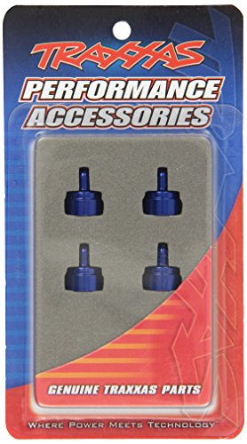 Traxxas 3767A Aluminum Shock Caps for Ultra Shocks, Blue
