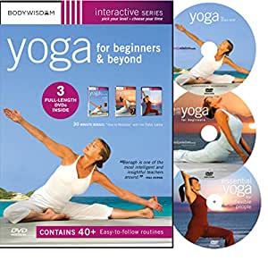 Yoga for Beginners and Beyond - 3 DVD Deluxe Box Set