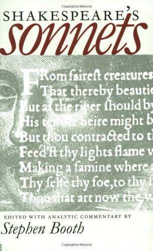 Huge save onshakespeare in oxford Shakespeare's Sonnets (Yale Nota Bene)