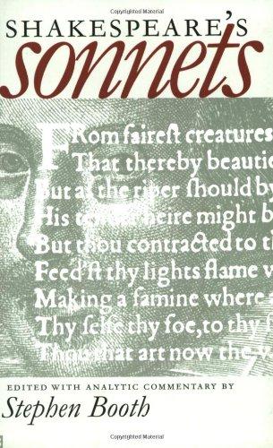 Shakespeare's Sonnets (Yale Nota Bene)