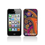 Apple iPhone 4S / iPhone 4 Watford Workshop Glossy Image Hard Back 2D Printed Case - Paisley