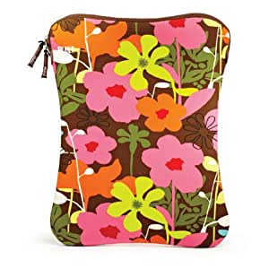 Built Laptop Sleeve, 14-15-Inch, French Bull Shadow Flower