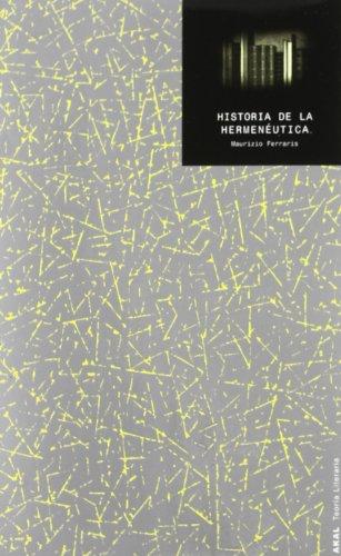 Historia de la hermenéutica (Teoria Literaria)