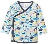 Zutano Unisex-Baby recién nacido Sunfish Kimono Top, Bluebird, 3meses Color: Bluebird Tamaño: 3Meses infantil, bebé, niño
