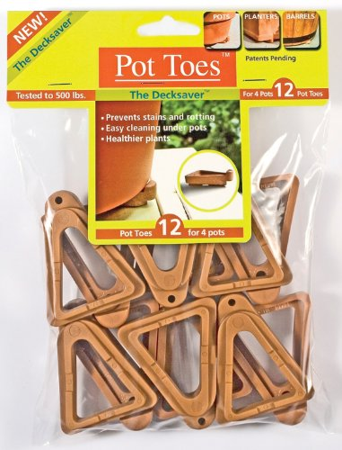 Plantstand PT-12TCHT 12-Pack Terra Cotta Pot toes