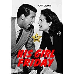 His Girl Friday [VHS Retro Style] 1940