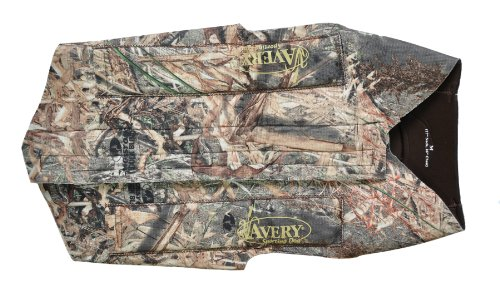 Avery Mossy Oak Tuff 5mm Floating Dog Parka - Duck Blind - XX-Large