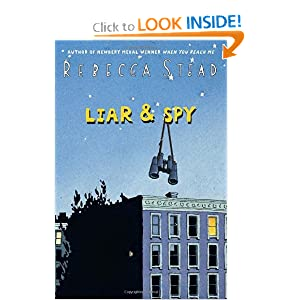 What My Kids Read Reviews Liar & Spy by Rebecca Stead