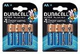 Duracell Ultra AA Alkaline Batteries (8 Pcs)