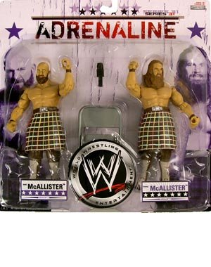 Buy Low Price Jakks Pacific WWE Adrenaline Series 31 Rory and Robbie McAllister Action Figure 2-Pack (B003XWCTYM)