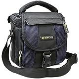 Evecase Holster Compact avec bandoulière et poignée pour appareil photo, Caméra, DSLR, Relfex, reflex DSLR, Canon, Nikon, Pentaz, Sony, Olympus, Panasonic