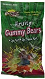 Energy Club Gummy Bears, Fruity, 8.5-Ounce Bags (Pack of 6) by CUE GREEN TEA ENERGY