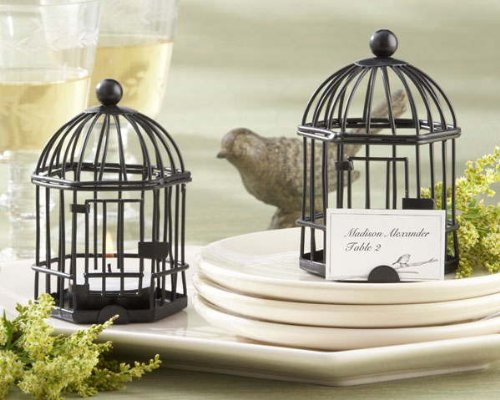 Love Songs Birdcage soy Tea Light/Place Card