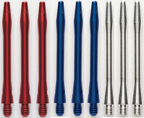 Lowest Prices! 3 Sets of Winmau Aluminum Dart Shafts (9 Shafts)