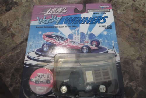 Johnny Lightning Wacky Winners Tom Daniel's Root Beer Wagon