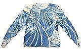 和彫り タトゥー Tシャツ 刺青 入れ墨シャツ 面白Tシャツ ロンT 伝統 日本 本物志向