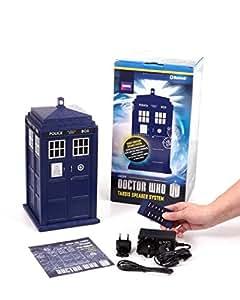 WhoSounds Haut-parleur sans fil Bluetooth en forme de TARDIS Doctor Who