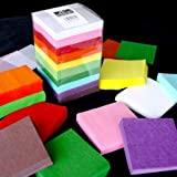 Bumper Tissue SQUARES Tower 4600 Pieces in 10 Bright Colours 100mm Ideal for Card Making Scrapbooking Paper Flowers Collage and lots more