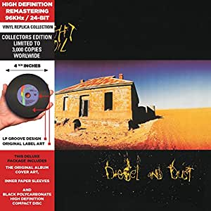 Diesel And Dust - Cardboard Sleeve - High-Definition CD Deluxe Vinyl Replica