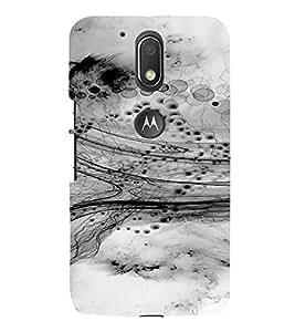 PrintVisa Modern Art Design 3D Hard Polycarbonate Designer Back Case Cover for Motorola Moto G4 Plus