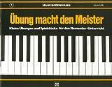 Übung macht den Meister, Heft 1 - Hans Bodenmann