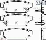 PROTON PERSONA 400 (C9_S) 418 Brembo Rear Brake Pads 01/94 ->