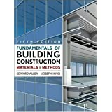 Fundamentals of Building Construction: Materials and Methodsby Edward Allen