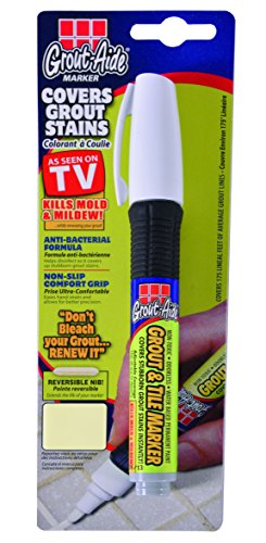 Grout-Aide 05061 Marker, 9.8ml, Almond (Grout Paint Pen compare prices)