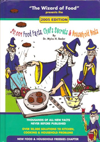 20,001 Food Facts, Chefs Secrets & Household Hints (2005 Edition), Dr. Myles H. Bader
